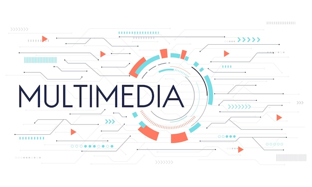 Illustratie van sociale media concept