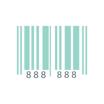 Illustratie van streepjescode