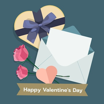 Illustratie van valentijnsdag