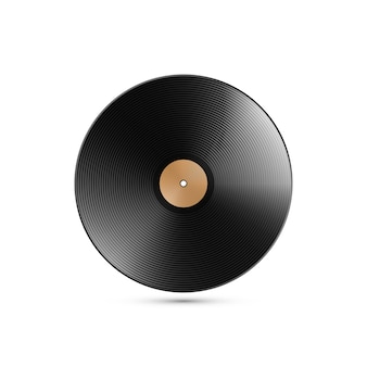Illustratie van vinyl record