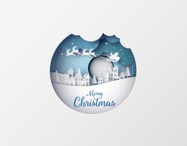 Illustratie van vrolijke kerstmis en gelukkig nieuwjaar
