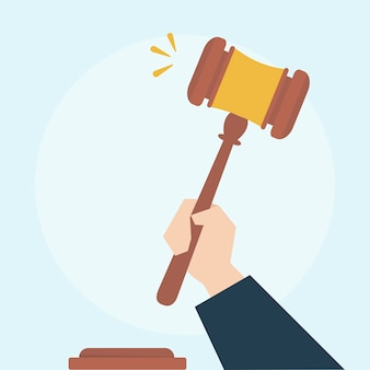 Illustratie van wetsconcept