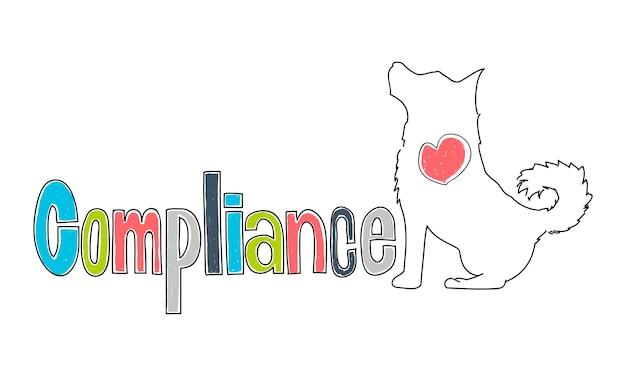 Illustratie van zakelijke compliance