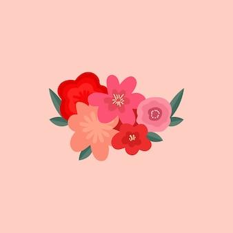 Illustraties van valentijnsartikelen