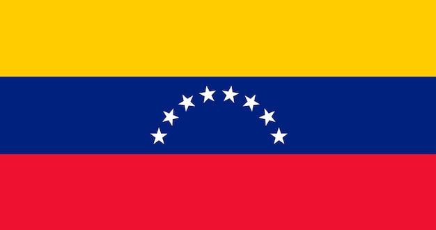 Illustratievlag van venezuela