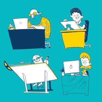 Illustrator, ontwerper, programmeur en architect