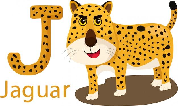 Illustrator van j met jaguar