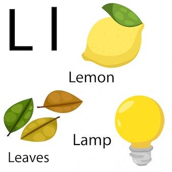 Illustrator van l-alfabet