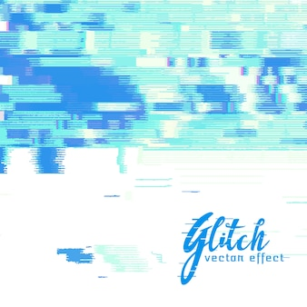 Image glitch vector background