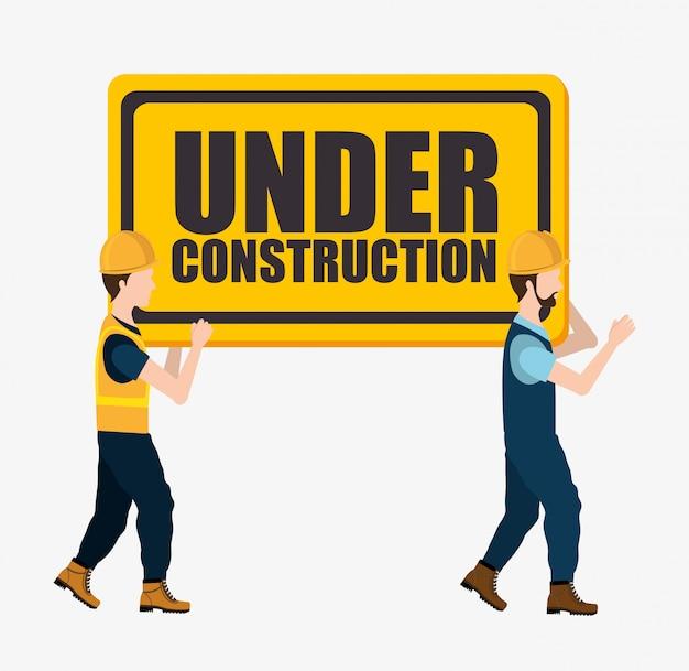 In aanbouw en gereedschappen