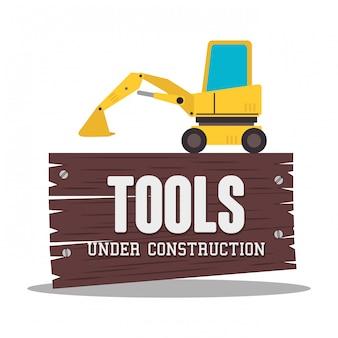 In aanbouw illustratie