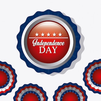 Independence day 4 juli usa ontwerp