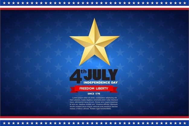 Independence day design element achtergrond