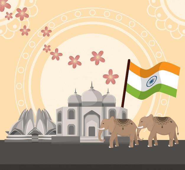 India cultuur en reizen