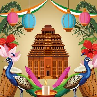 India nationaal monumententoerisme