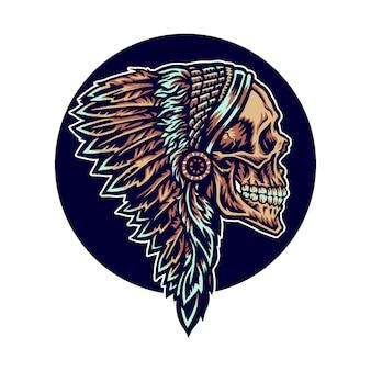 Indiaanse schedel