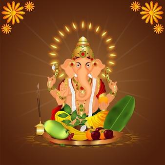 Indiaas festival met vectorillustratie voor happy dhanteras-viering