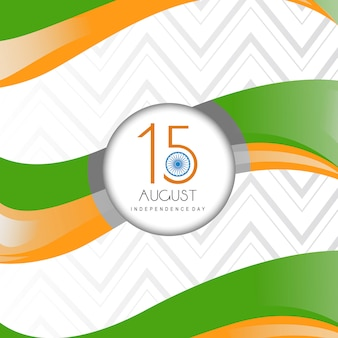 Indian independence day achtergrond