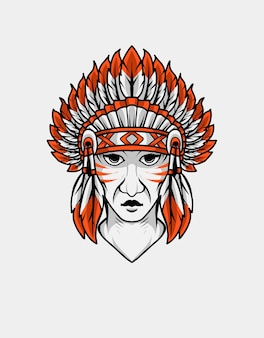 Indiase apache-kop