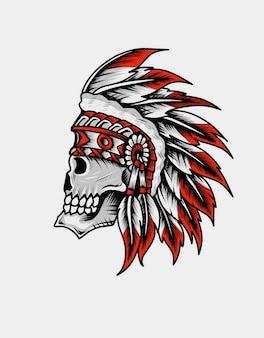 Indiase apache-schedel
