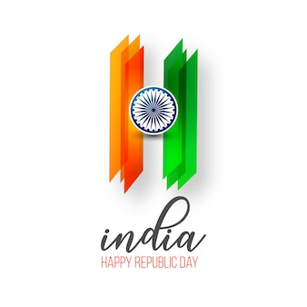 Indiase dag van de republiek 26 januari achtergrond