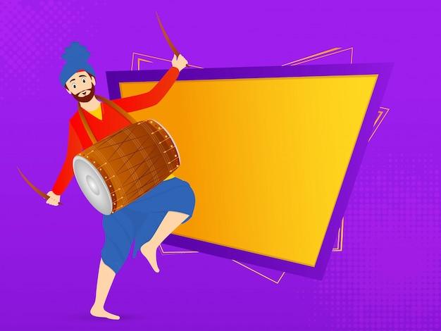 Indiase festival baisakhi concept.