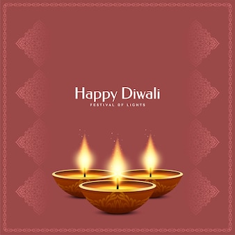 Indiase festival happy diwali achtergrond