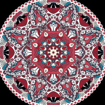 Indiase mandala-ornament