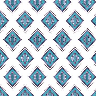 Indiase naadloze patrooncollectie decoratief behang
