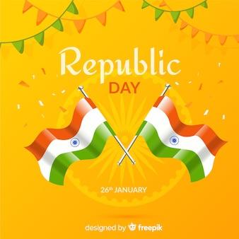 Indiase republiek dag achtergrond