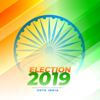 Indiase verkiezing stem ontwerp