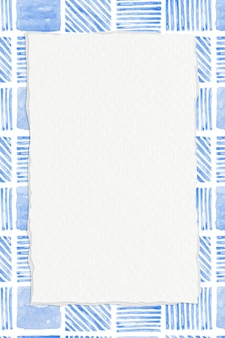 Indigo blauwe geometrische naadloze patroon achtergrond