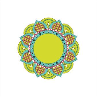 Indisch mandala-ontwerp