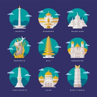 Indonesië landmark