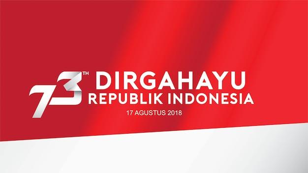 Indonesië onafhankelijkheidsdag