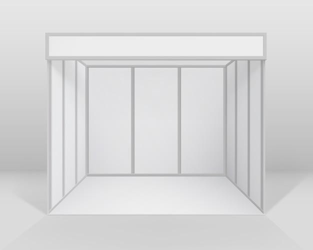 Indoor beursstand standaardstandaard voor presentatie
