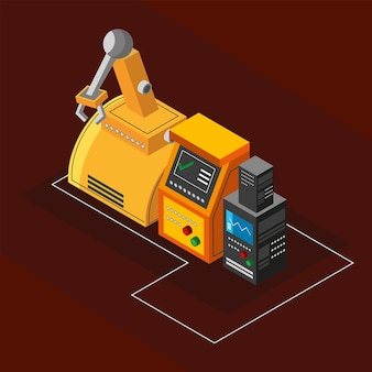 Industrie robotarm