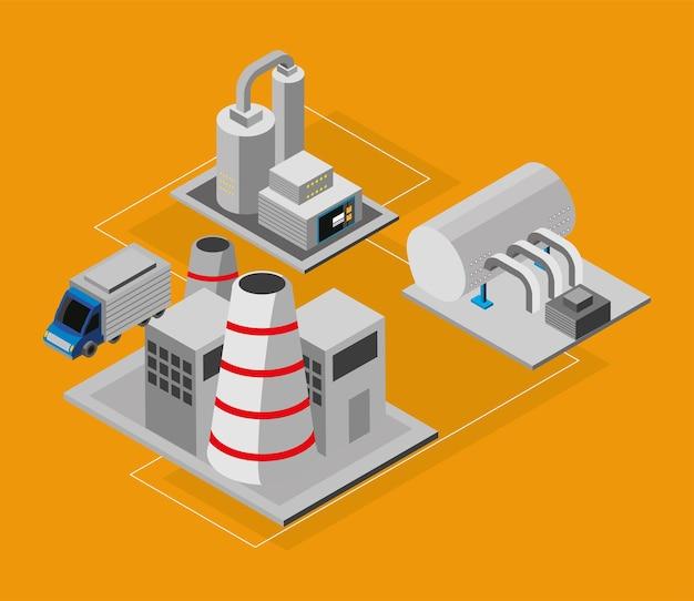 Industrie van automatiseringsproductie