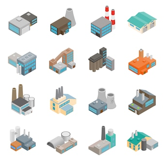 Industrieel gebouw fabriek