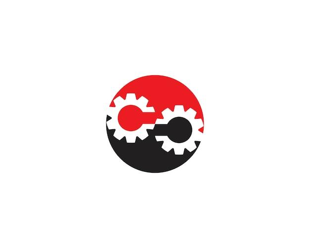 Infinity gear logo sjabloon