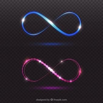 Infinity lens flare-symbool