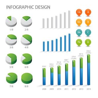Info grafische elementen en communicatieconcept