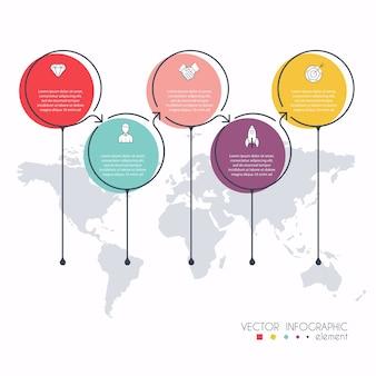 Info graphics voor uw zakelijke presentaties