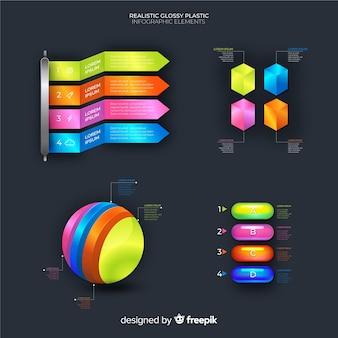 Infografic element verzameling