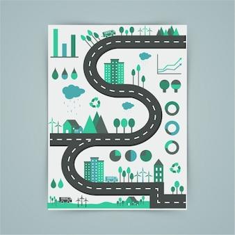 Infografie over het milieu