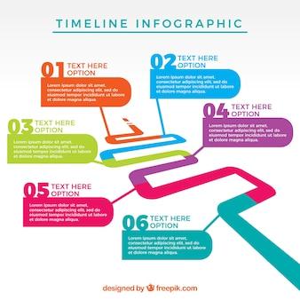 Infografisch sjabloon ontwerp