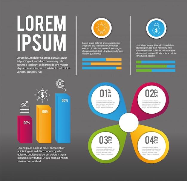 Infographic bedrijfsgegevensplan