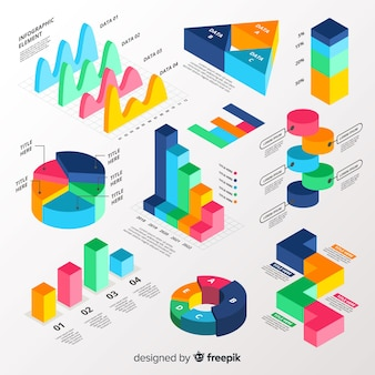Infographic element collectie