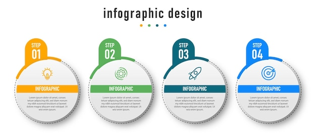 Infographic element sjabloon