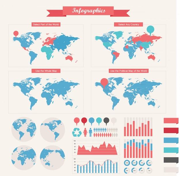 Infographic elementen